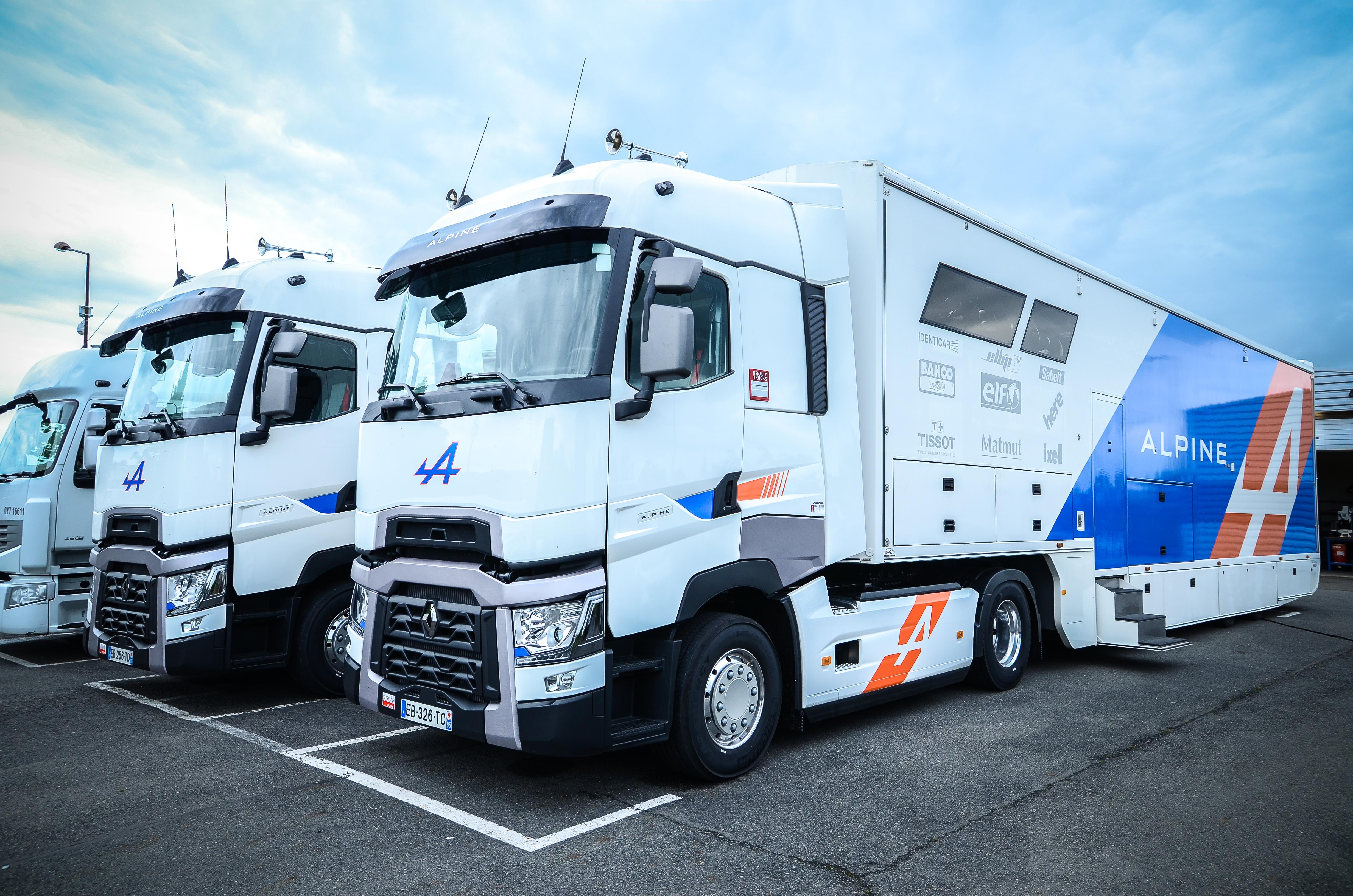 Endurance renault trucks t pour l 39 curie alpine am today for Renault range t interieur