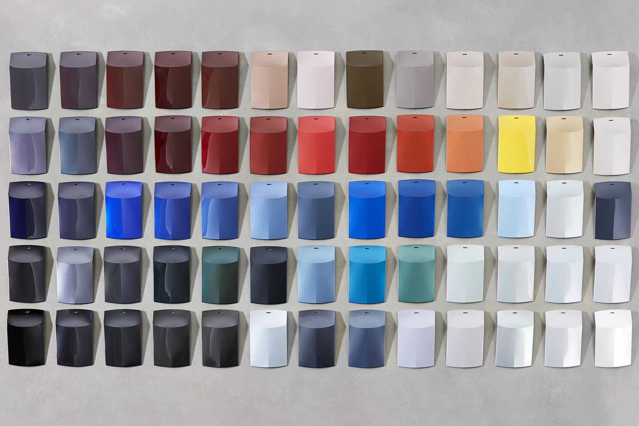 nouvelle collection des couleurs tendances de basf am today. Black Bedroom Furniture Sets. Home Design Ideas
