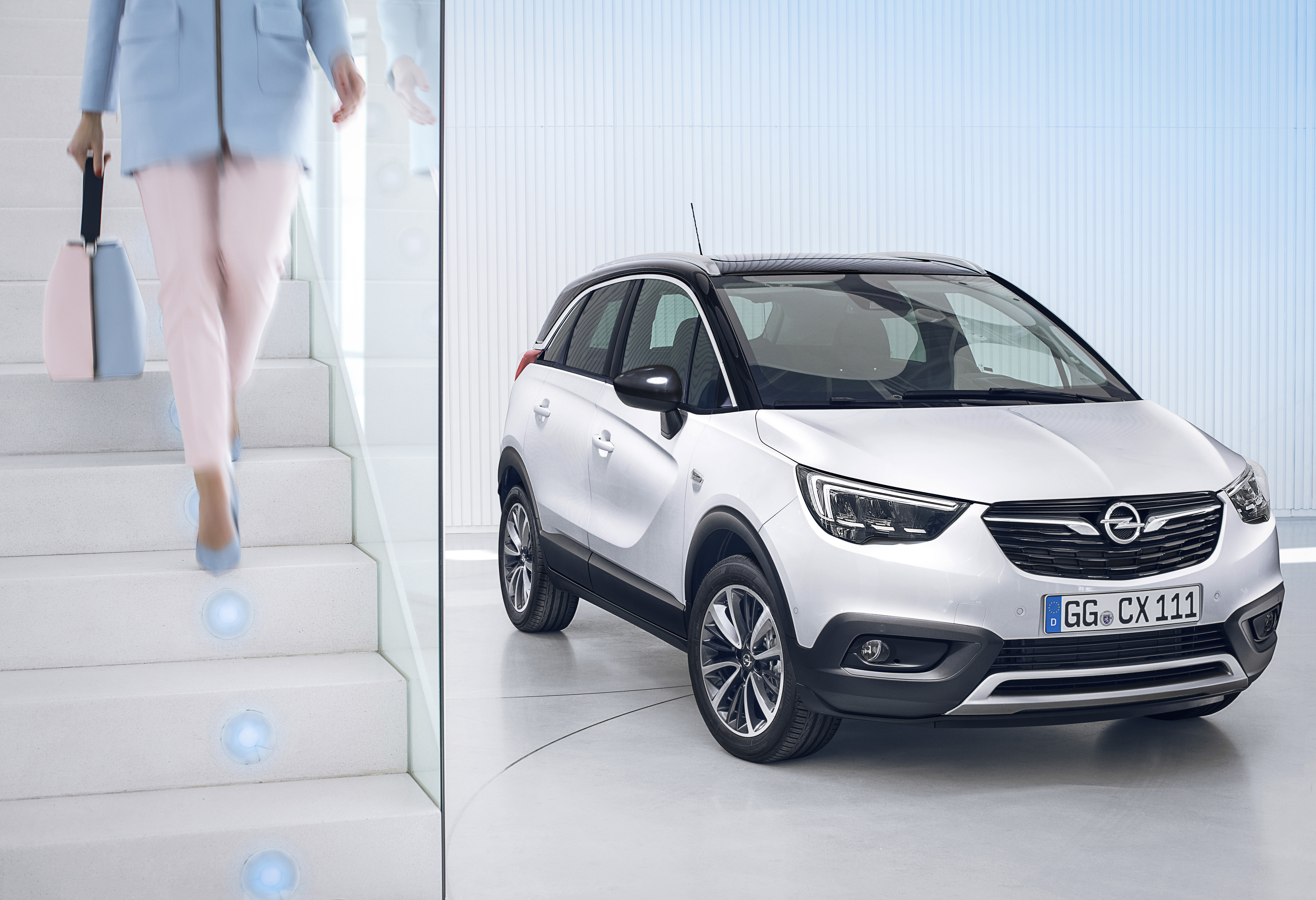 nouvel opel crossland x vid o am today. Black Bedroom Furniture Sets. Home Design Ideas