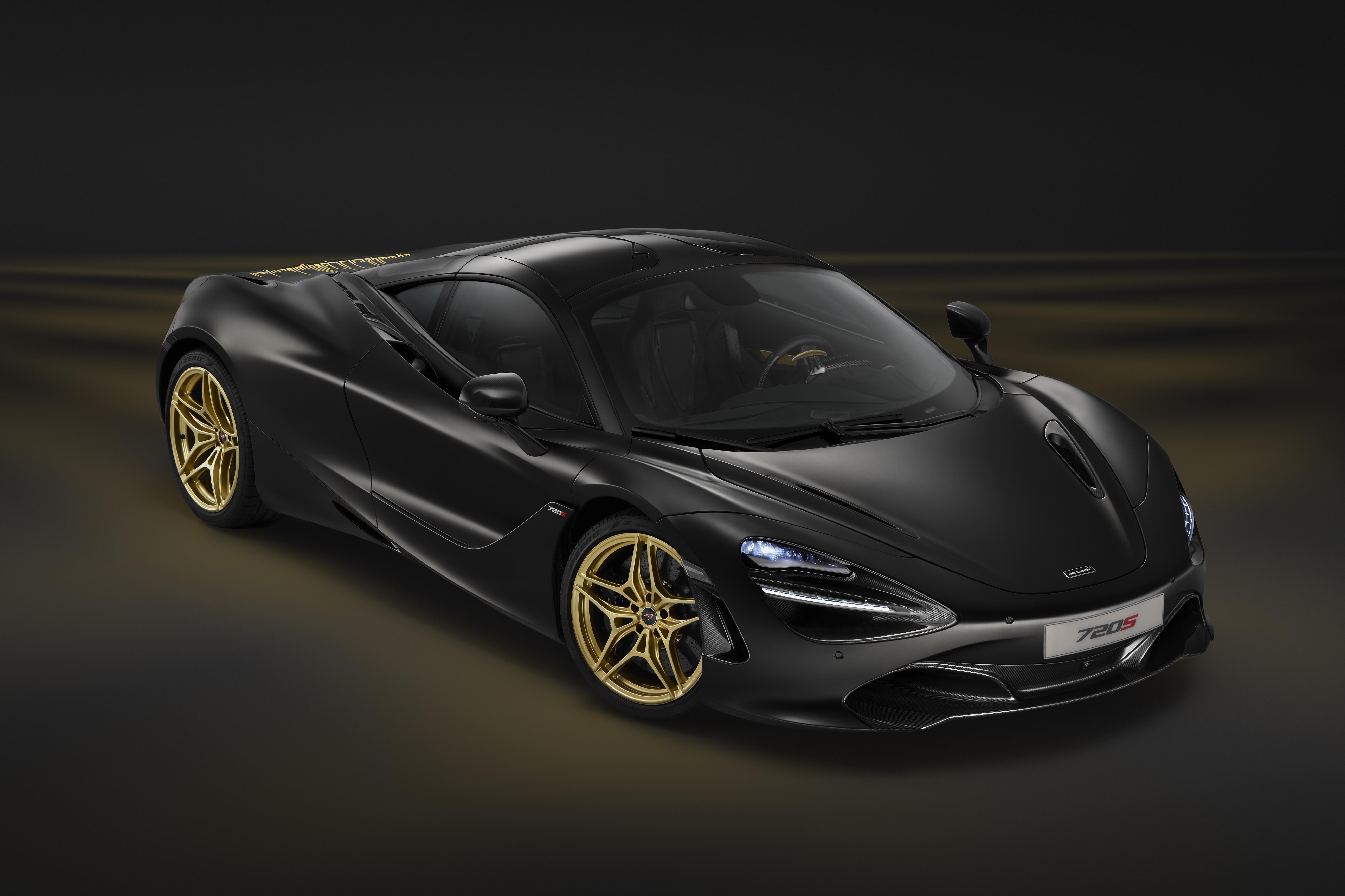 McLaren présente une 720S or et noir à Dubaï | AM-Today
