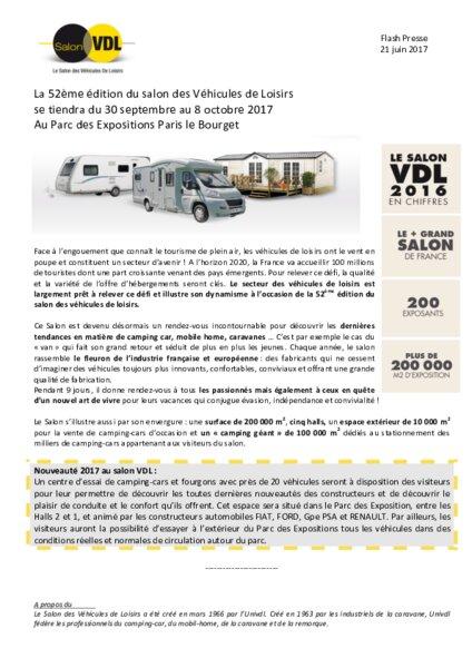 Salon des vdl partir du 30 septembre au bourget am today - Salon du bourget vdl ...