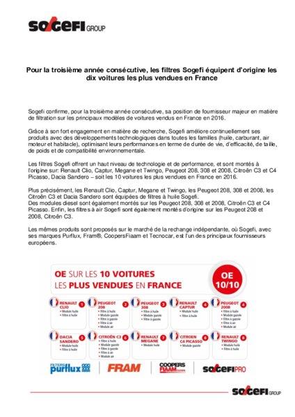 CATALOGUE PURFLUX TÉLÉCHARGER