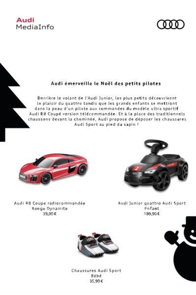 Pilotes Today Audi Des Émerveille Le Noël Petits Am 1RZzXqAR