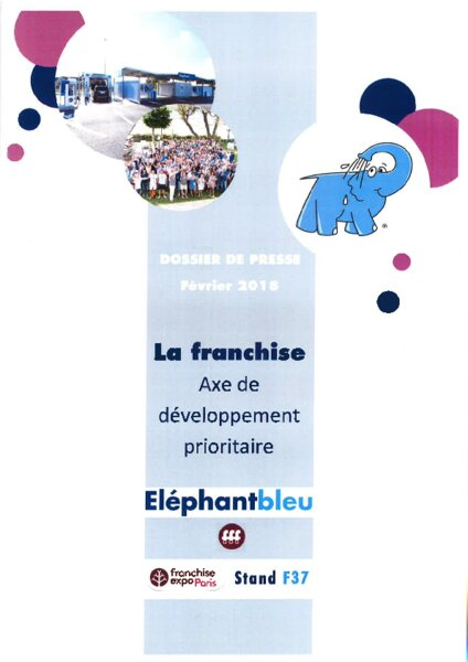 el phant bleu recrute franchise expo am today. Black Bedroom Furniture Sets. Home Design Ideas
