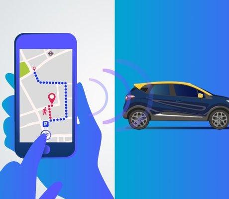 My renault pour piloter sa voiture depuis son smartphone - Piloter volet roulant par smartphone ...