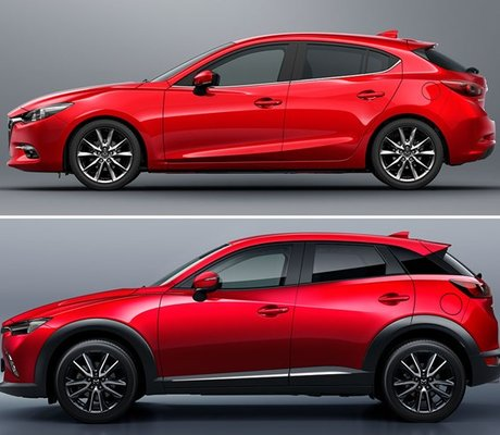 mazda3 et mazda cx 3 s rie sp ciale signature am today. Black Bedroom Furniture Sets. Home Design Ideas