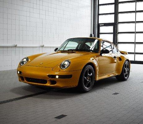 porsche construit une 911 turbo s de 1998 avec des pi ces neuves am today. Black Bedroom Furniture Sets. Home Design Ideas