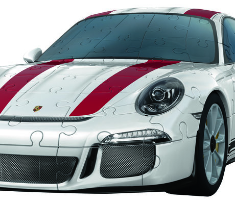 une porsche 911r en puzzle 3d vid o am today. Black Bedroom Furniture Sets. Home Design Ideas