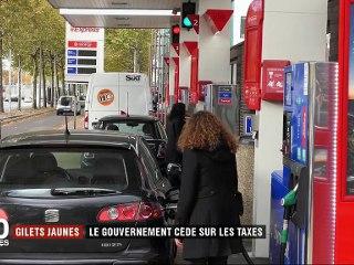 """""""Gilets jaunes"""" : le gouvernement recule sur les taxes (France 2)"""