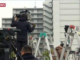 Carlos Ghosn quittant la prison de Tokyo (CNews)