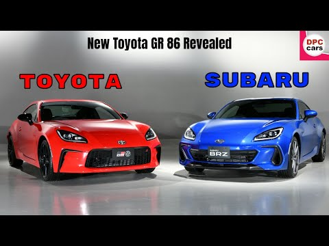 New Toyota GR 86 Revealed