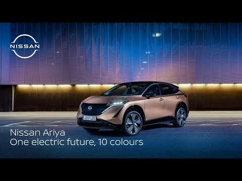 Nissan ARIYA: Colours for the electric age