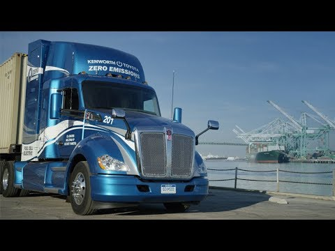 Hydrogen Fuel Cell Electric Kenworth T680
