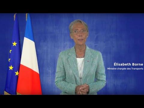 Intervention vidéo d'Elisabeth Borne, Ministre chargée des Transports