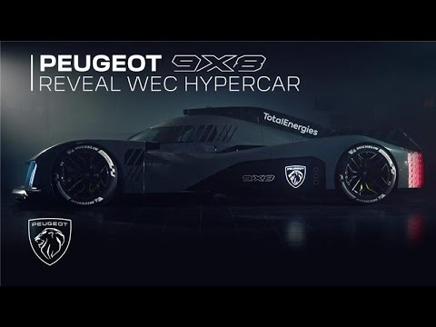 Introducing Peugeot 9X8 | Reveal WEC Hypercar