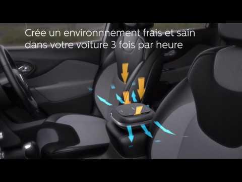 Philips GoPure Compact 100 Airmax: un oasis d'air pur sur votre route