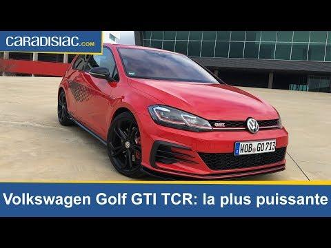 Essai Volkswagen Golf GTI TCR : la plus puissante