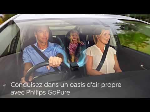 Philips GoPure SlimLine 230: un oasis d'air pur sur votre route