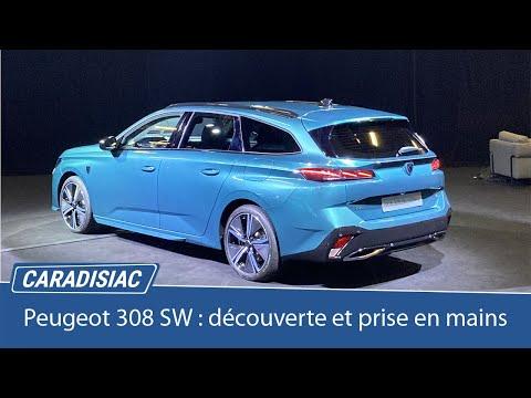 Découverte et premier essai de la Peugeot 308 SW (Caradisiac)