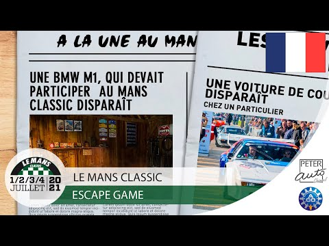 Escape Game Le Mans Classic