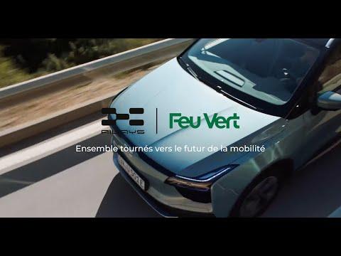 Feu Vert x Aiways : Ensemble tournés vers l'avenir