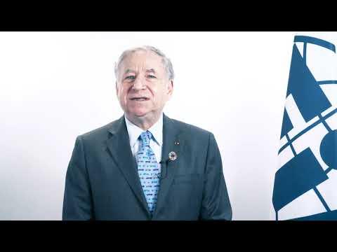Intervention vidéo de Jean Todt, Président de la FIA
