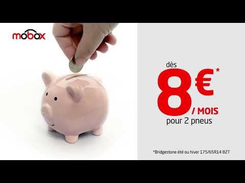 Abonnez-vous pour vos pneus dés 8€/mois avec l'abonnement Mobox