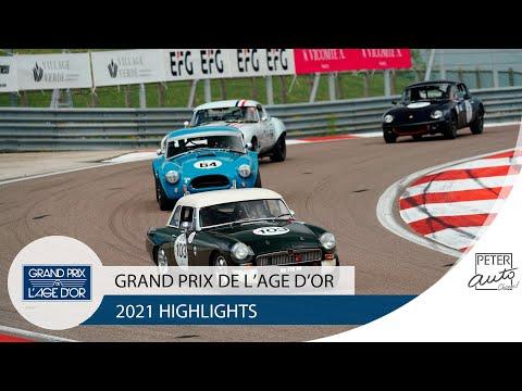 2021 Grand Prix de l'Age d'Or highlights - Circuit Dijon Prenois