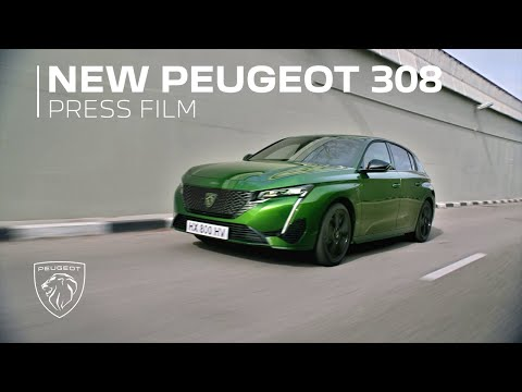 New Peugeot 308 l Press Film