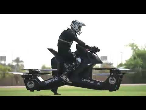 Moto volante - Police de Dubai