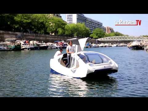 Voiture volante... sur l'eau (Seabubble)