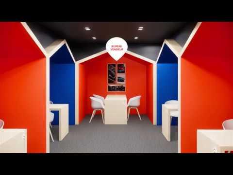 Salon de Shanghai 2019 - Présentation 3D du stand Citroën