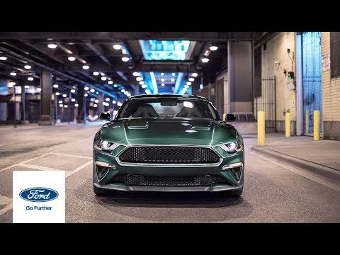 la ford mustang bullitt d barque en europe vid o am today. Black Bedroom Furniture Sets. Home Design Ideas